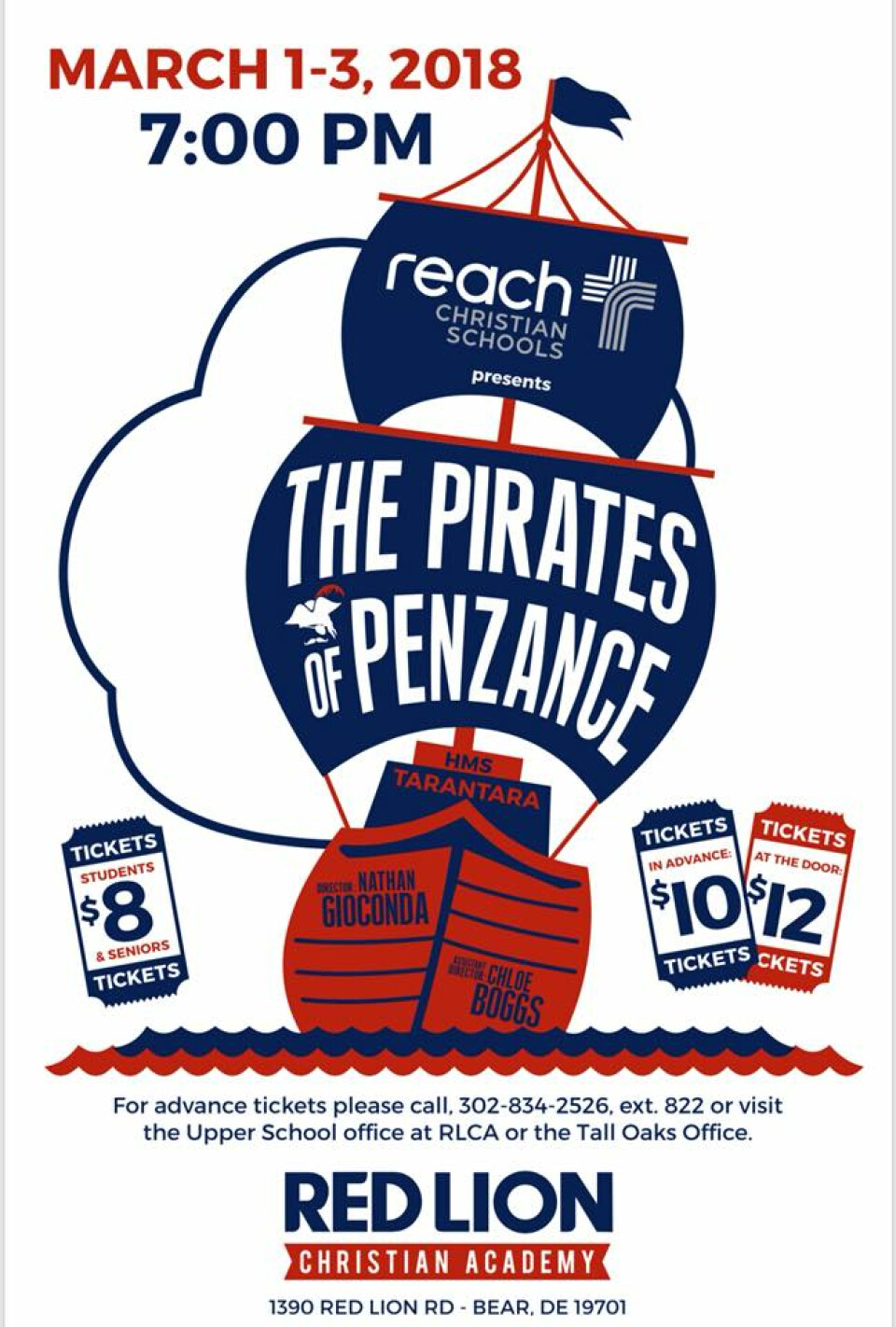 Spring Musical - The Pirates of Penzance